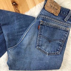 Vintage Orange Tag Levi Jeans
